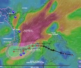 Áp thấp nhiệt đới vào Biển Đông, sắp mạnh lên thành bão