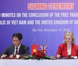 Chính thức ký kết Hiệp định UKVFTA