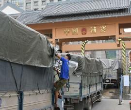 Trung Quốc lấy mẫu, khử trùng hàng loạt hàng hóa nhập khẩu