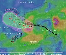 Bão Conson và Chanthu cùng hoạt động, liệu có 'bão chồng bão'?