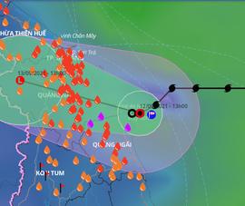 Không có 'dòng dẫn đường', áp thấp nhiệt đới vẫn chưa vào đất liền