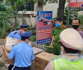 Phát hiện hơn 70 kg pháo trên xe tải ở Nghệ An