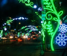 Đà Nẵng lung linh về đêm trước thềm năm mới