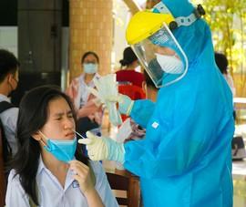 Đà Nẵng: Hơn 13.000 học sinh thi vào lớp 10 được xét nghiệm COVID-19