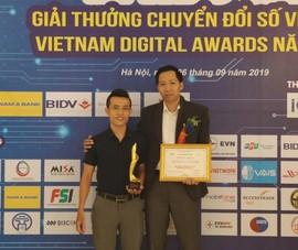 Đà Nẵng nhận giải thưởng chuyển đổi số Việt Nam