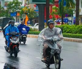 Mưa bắt đầu to dần từ Quảng Bình đến Quảng Ngãi