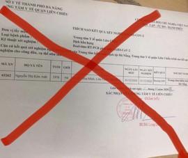 Tạm đình chỉ 2 điều dưỡng sửa phiếu xét nghiệm COVID-19