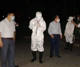 Nửa đêm lập chốt chờ lao động từ Nhật Bản về để đưa đi cách ly