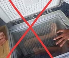 Ép trẻ 15 tuổi nằm trong tủ lạnh để chụp ảnh câu 'like'