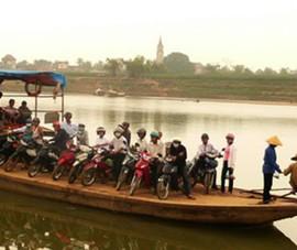 Tìm thấy thi thể người lái đò trên sông Lam