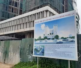 Đơn vị thi công trụ sở Sở Tài chính Nghệ An nói về vụ tai nạn