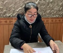 Bắt một phụ nữ cho vay nặng lãi ở Nghệ An