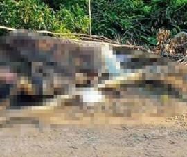 Phát hiện thi thể người đàn ông cháy sém gần nghĩa trang
