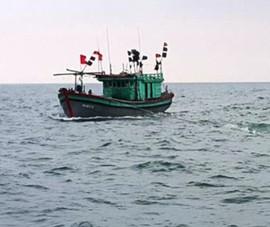 Phát hiện 1 tàu cá không có người lênh đênh trên biển