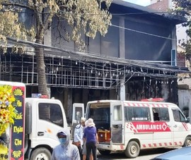 Hoàn tất khám nghiệm vụ cháy phòng trà 6 người thiệt mạng
