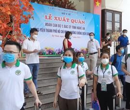 60 y, bác sĩ Nghệ An đến TP.HCM chung tay điều trị COVID-19
