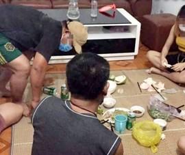 5 người tụ tập uống nước chè bị phạt 50 triệu đồng