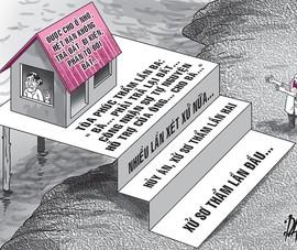 Hủy hai bản án tranh chấp đòi nhà, đất cho ở nhờ