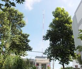 Trạm thu phát sóng xây trong khu dân cư chưa có phép