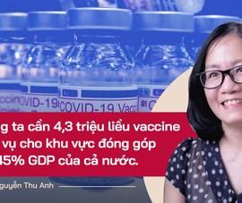 Chuyên gia: TP.HCM cần tiêm 1 triệu liều vaccine để đảm bảo tiêu chí mở cửa