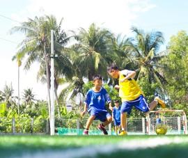 Vui khỏe với lớp bóng đá Lê Thanh Phong