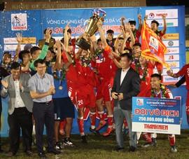 Nhà vô địch Viettel thắng áp đảo các giải thưởng cá nhân