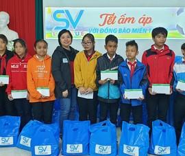 Chuyến từ thiện ý nghĩa của SV-League hướng về miền Trung