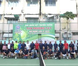 Vui khỏe với giải quần vợt truyền thống - cúp Tân Phương Tây