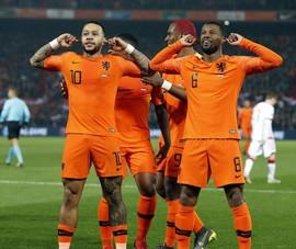 Cơn lốc màu da cam Hà Lan không chắc thắng nổi Ukraine