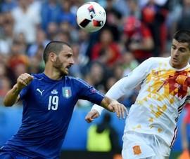 Đội trưởng tuyển Ý cảnh báo 'chân gỗ' Morata