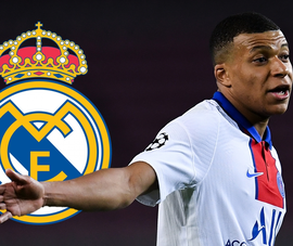 Real Madrid ngắm nghía Mbappe sau khi chia tay PSG