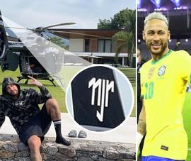Neymar khoe khoang máy bay riêng siêu sang có giá 15 triệu USD