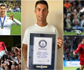 Ronaldo và 5 kỷ lục độc đáo nhất hành tinh