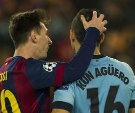 Aguero: 'Tôi không bỏ Barca vì Messi'