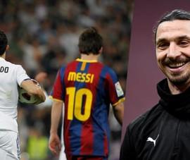Ibrahimovic: 'Ronaldo và Messi không có cửa so sánh với tôi'