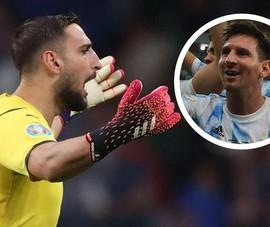 Donnaruma dự bị vì Messi