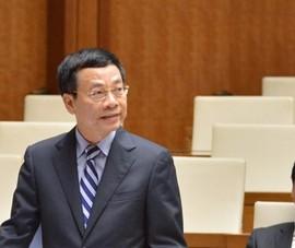 Bộ trưởng Nguyễn Mạnh Hùng: Sẽ sớm có quy định xử nạn tin giả