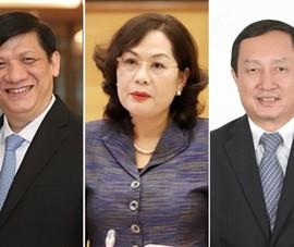 Trình Quốc hội phê chuẩn Thống đốc NHNN, Bộ trưởng Y tế, KH&CN