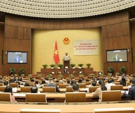 86 người được giới thiệu ứng cử đại biểu Quốc hội chuyên trách