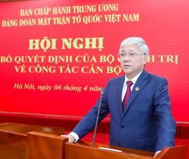 Hiệp thương thay Chủ tịch Ủy ban Trung ương MTTQ Việt Nam