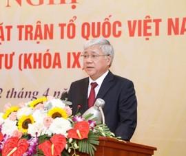 Tân Chủ tịch MTTQ Việt Nam: 'Cán bộ thấu hiểu, gắn bó với dân'