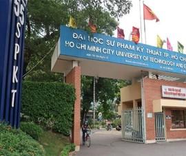 Bộ GD&ĐT không công nhận hiệu trưởng trường Đại học Sư phạm Kỹ thuật TP.HCM