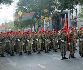 Tổng duyệt diễu binh, diễu hành kỷ niệm 40 năm thống nhất đất nước