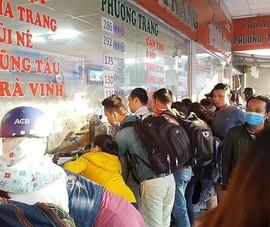Sở Giao thông TP.HCM khuyến cáo dân vào bến xe mua vé