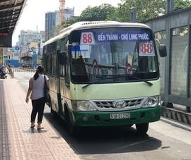 Hành khách có thể tìm đường đi của xe buýt kết hợp Grab