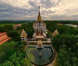 Ghé thăm ngôi chùa độc đáo ở quận 9