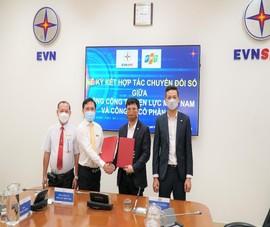 EVNSPC và FPT hợp tác chiến lược chuyển đổi số
