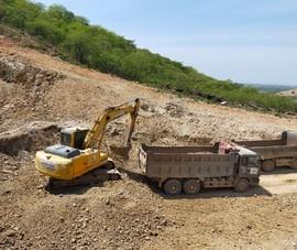 Cận cảnh dự án cao tốc Vĩnh Hảo - Phan Thiết những ngày tháng 6