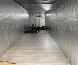 Sở GTVT hỗ trợ lắp đặt văn phòng container di động cho 12 chốt kiểm soát dịch