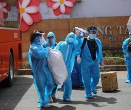 Phú Yên đưa 426 người dân kẹt ở Bà Rịa – Vũng Tàu về quê